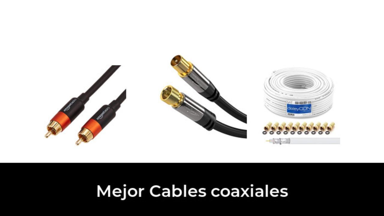 Cable Antena TV digital cable BK 5 veces 135 DB coaxial enchufe hembra HDTV 4k 3d