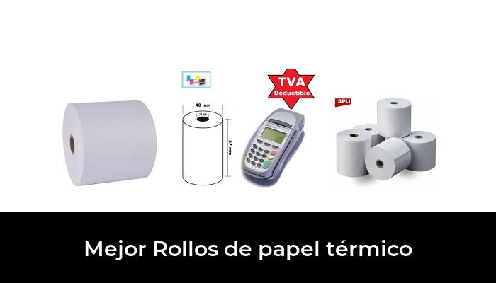 20 Uniwell TP-832 TP-932 papel térmico libre de BPA hasta que EPOS Impresora Rollos de recibo