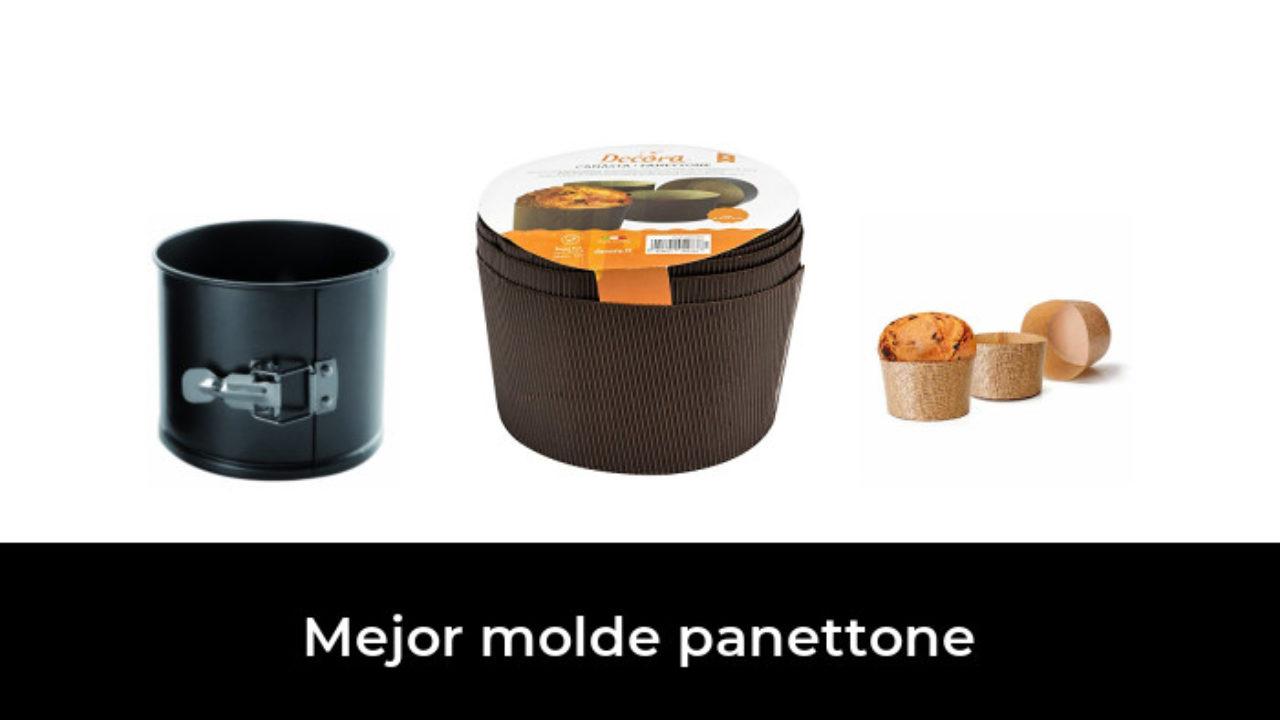 Forma Antiadherente monouso Dulces navide/ños y Pan Dulce Ideal para panettones Pan brioche panettone gastron/ómico Ducomi Molde de panettone Alto de Navidad en Papel de Horno